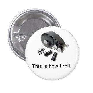 Éste es cómo ruedo el botón