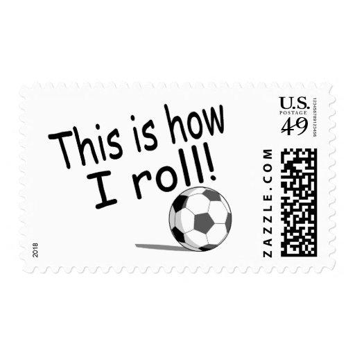 Éste es cómo ruedo (el fútbol) franqueo