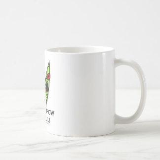 Éste es cómo ruedo (el kajak) taza de café