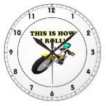 Éste es cómo ruedo relojes