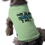 Éste es cómo ruedo rv camisetas mascota