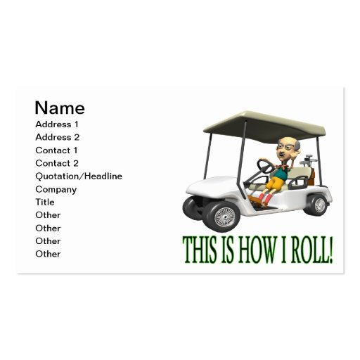 Éste es cómo ruedo tarjetas de visita