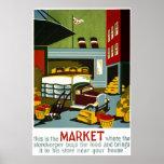 Éste es el mercado posters