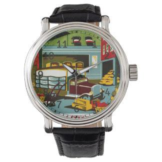 Éste es el mercado… reloj de mano