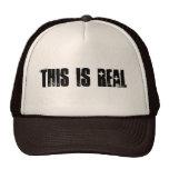 Éste es gorra real