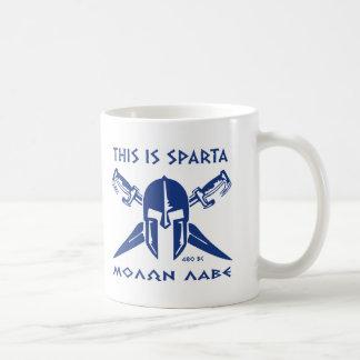 Éste es lave de Sparta - de Molon Taza De Café