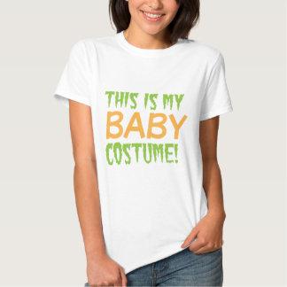 Éste es mi diseño de Halloween del traje del BEBÉ Camisas