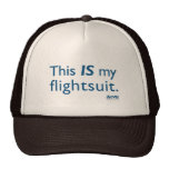 ¡Éste ES mi flightsuit! Gorros