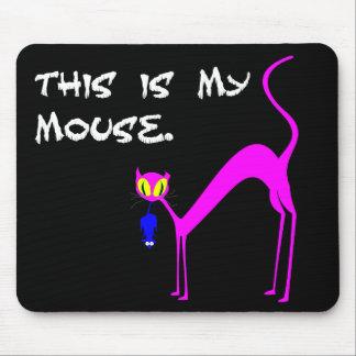 Éste es mi ratón - mousepad tapete de raton