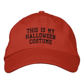 Éste es mi traje de Halloween Gorros Bordados
