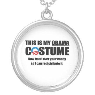 Éste es mi traje de Obama Colgante Redondo