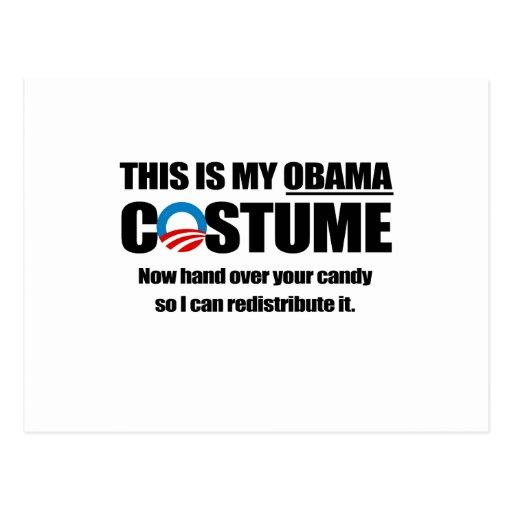 Éste es mi traje de Obama Tarjeta Postal