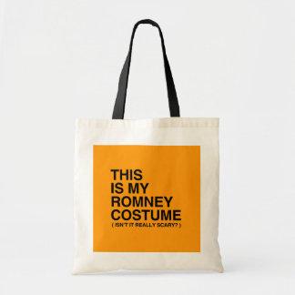 ÉSTE ES MI TRAJE de ROMNEY HALLOWEEN - Halloween Bolsas De Mano