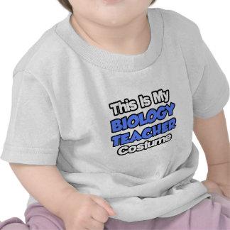 Éste es mi traje del profesor de biología camiseta