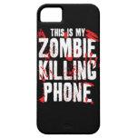Éste es mi zombi que el teléfono de la matanza gua iPhone 5 protectores