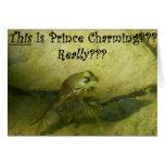 ¿Éste es príncipe el encantar??? Tarjeta