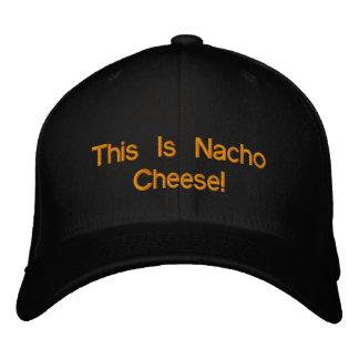 ¡Éste es queso del Nacho! Gorra De Béisbol Bordada