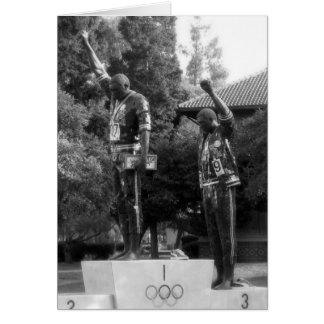 Éste es San Jose CA: Tommie Smith y Juan Carlos Tarjeta De Felicitación