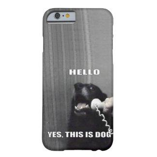 Éste es sí perro funda de iPhone 6 slim