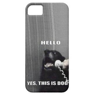 Éste es sí perro iPhone 5 funda