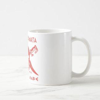 Éste es Sparta - Molon Lave - rojo Tazas