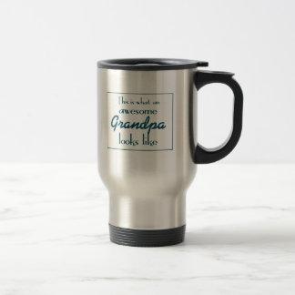 Éste es un qué abuelo impresionante parece taza térmica