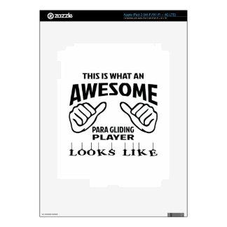 Éste es un qué jugador de deslizamiento pegatinas skins para iPad 3