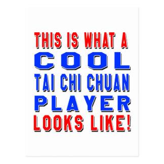 Éste es un qué jugador fresco de Chuan de la ji Tarjeta Postal
