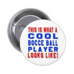 Éste es un qué jugador fresco de la bola de Bocce Pin