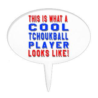Éste es un qué jugador fresco de Tchoukball parece Decoraciones Para Tartas