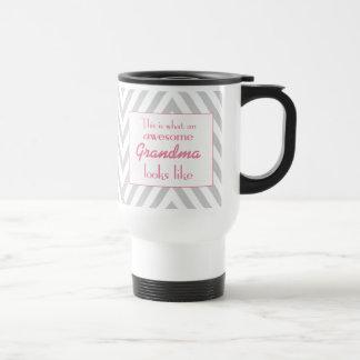 Éste es una qué abuela impresionante parece taza térmica