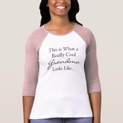 Éste es una qué abuela realmente fresca parece camiseta