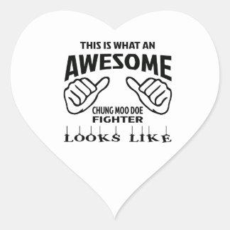 Éste es una qué mirada impresionante del pegatina en forma de corazón