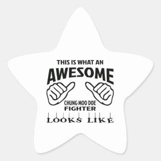 Éste es una qué mirada impresionante del pegatina en forma de estrella