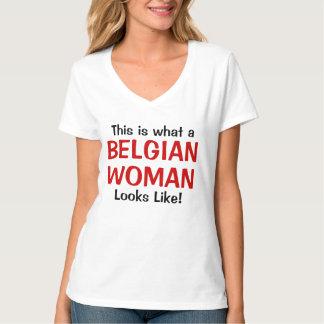 Éste es una qué mujer de Bélgica parece Polera