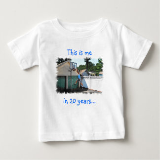 Éste es yo en 20 años de camiseta del bebé