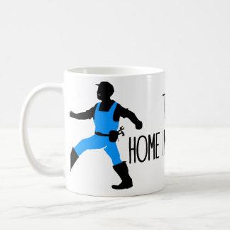 Éste es yo en modo de las mejoras para el hogar taza