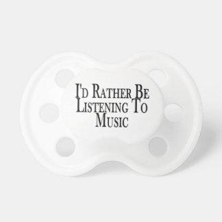 Esté escuchando bastante la música chupetes para bebes