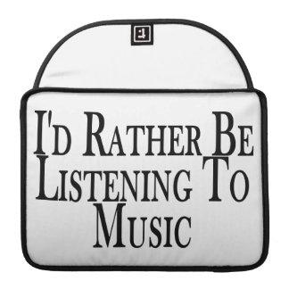 Esté escuchando bastante la música funda para macbook pro