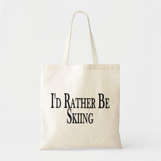 Esté esquiando bastante bolsa de mano