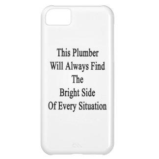 Este fontanero encontrará siempre la parte funda para iPhone 5C