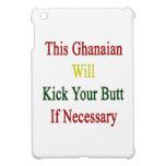Este ghanés golpeará su extremo con el pie en caso iPad mini cárcasas