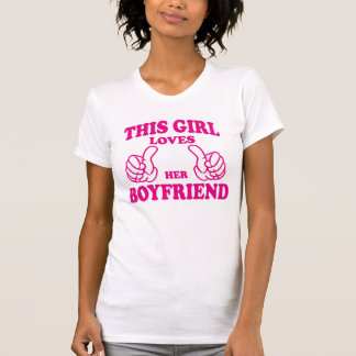 Este Gir ama su novio Tanktops y las camisetas