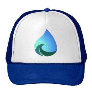 Este gorra azul del camionero de la onda salada de