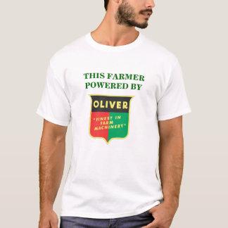 ¡Este granjero accionado por Oliverio! Playera