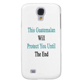 Este guatemalteco le protegerá hasta el fin