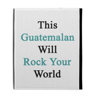 Este guatemalteco oscilará su mundo