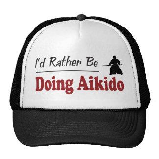 Esté haciendo bastante Aikido Gorro De Camionero