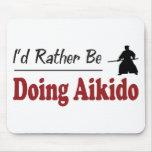 Esté haciendo bastante Aikido Alfombrillas De Raton
