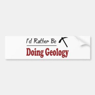 Esté haciendo bastante la geología pegatina para auto